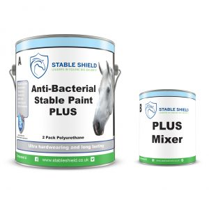 Stable Shield Dual Antibacterial paint and mixer